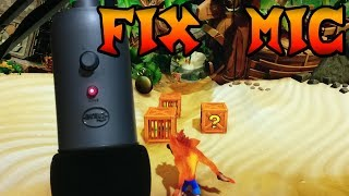 Fix USB Microphone per Crash Bandicoot N.Sane Trilogy [TUTORIAL]