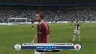 FIFA 13 Demo Gameplay ITA: Juventus-Milan