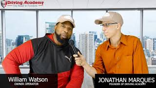 William Explains The Fastest Way To Get A Job | The Road To Freedom Show Episode 3 | Driving Academy