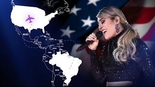 Naiara Azevedo - Tour EUA