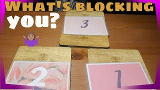 💖 What's blocking you? (LOVE) 😖| Pick A Card | Timeless