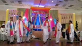Mehndi Dance for Fahad & Kutz