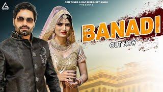Banadi - Full Video | Vicky Kajla, Rupali Malik, Sandeep Chandal | New Haryanvi Songs Haryanavi 2020