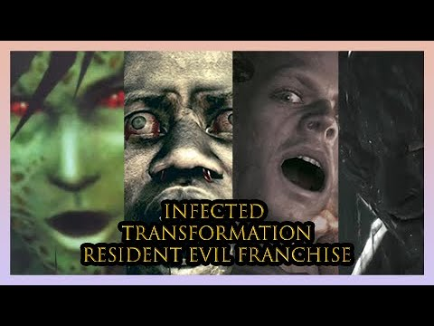 20 People Infected and Turning Into Monsters (Resident Evil Franchise)