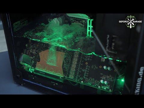 GeForce Garage: Aqua Exhalare Nvidia Edition By Der8auer (de)