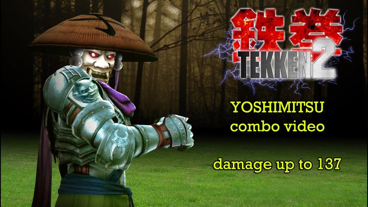 tekken 5 yoshimitsu combos ps2