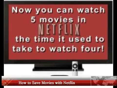 How to Save Movies with Netflix