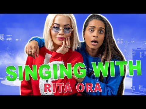 Trying To Sing Like Rita Ora