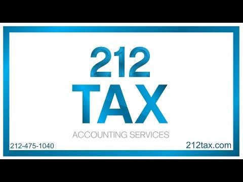 How Much Does A NYC Accountant Charge For Taxes? | 212 Tax & Accounting