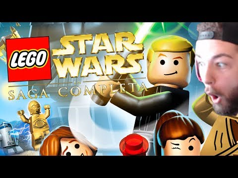 JEV PLAYS LEGO STAR WARS THE COMPLETE SAGA (CHALLENGE ACCEPTED) |