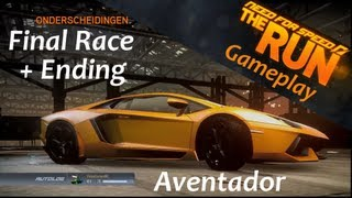 Racing Video Games | Need For Speed: The Run | FINAL RACE (Ending) Gameplay | VideoGamesNL