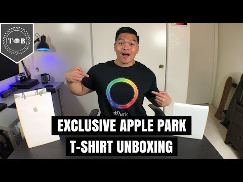 Exclusive Apple Park T-Shirt Unboxing & Visitor Center Review!!!