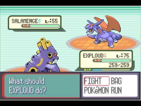 Easiest Way To Defeat The Elite Four Pokemon Ruby/Sapphire (see Description)