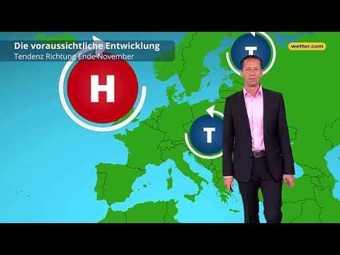 Wetterprognose für November 2018: Kai Zorn erklärt