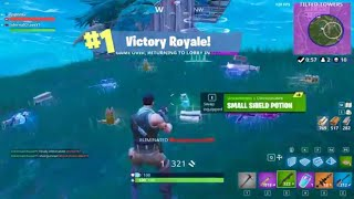 Helping My Friend Get His first Victory Royale / Win In Fortnite