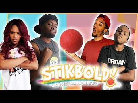CHOOSE YOUR SIDE! 2V2 EPIC DODGEBALL SHOWDOWN! - Stikbold Gameplay