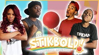 CHOOSE YOUR SIDE! 2V2 EPIC DODGEBALL SHOWDOWN! - Stikbold Gameplay
