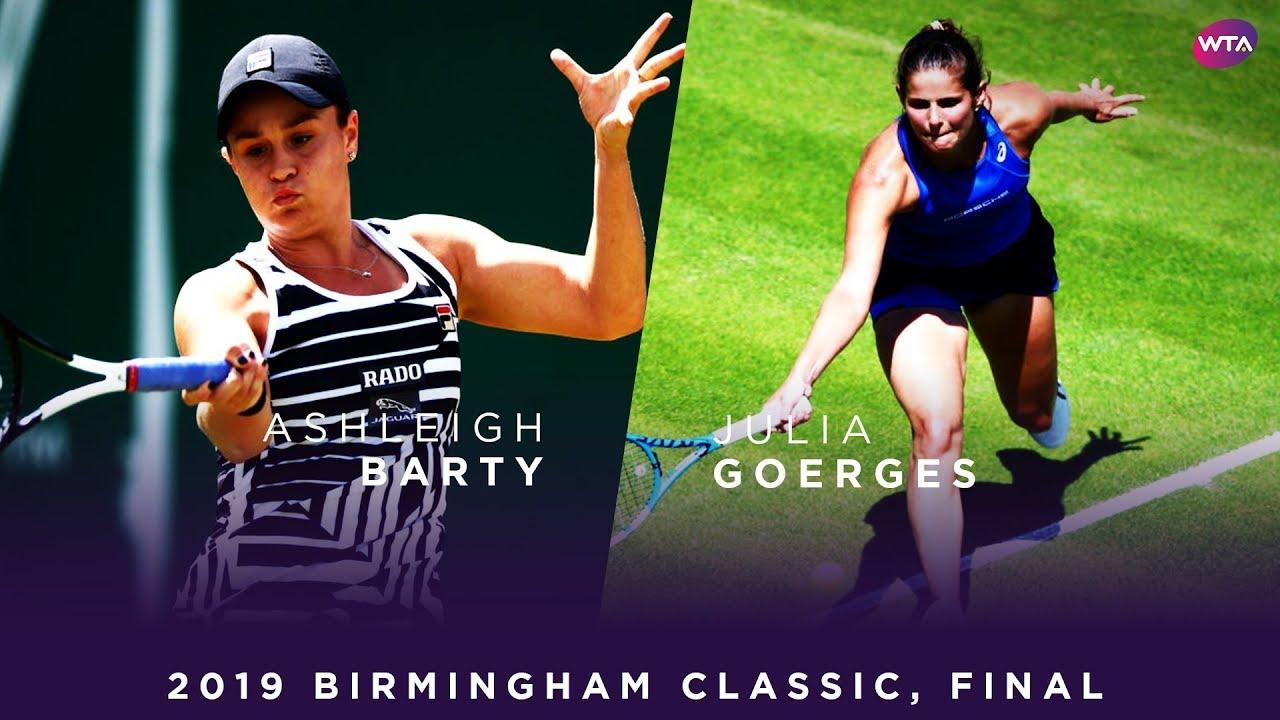 Ashleigh Barty vs. Julia Goerges | 2019 Birmingham Classic Final | WTA Highlights