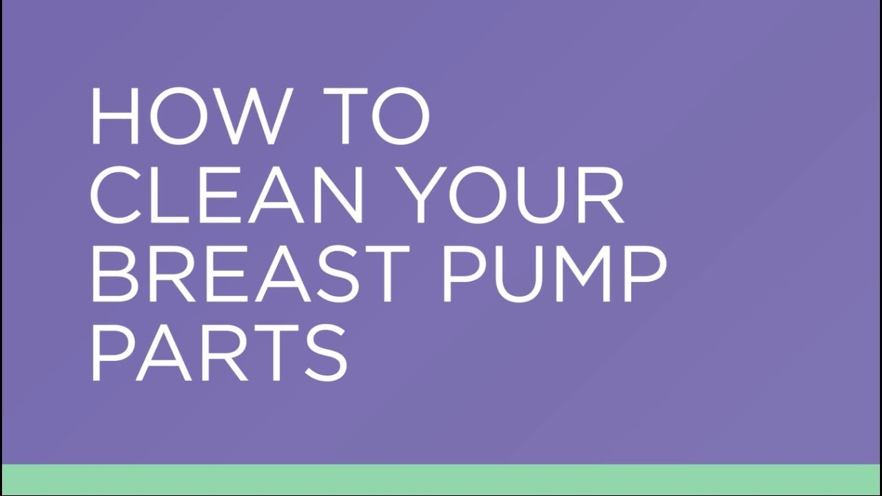 How To Clean Your Lansinoh Electric Or Manual Breast Pump Parts