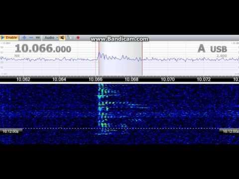 Kolkata Aeradio (Kolkata, West Bengal, India) - 10066 kHz (USB)