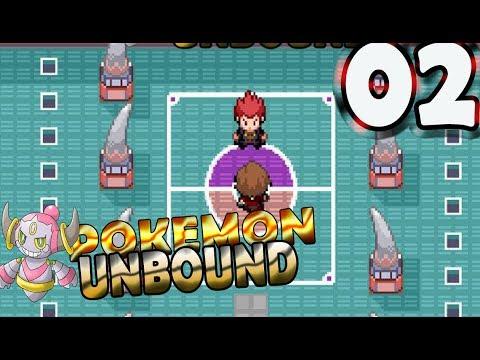 Pokemon Unbound Walkthrough Part 2 - FIRST GYM IS DRAGONS? WOW