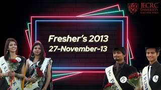 Freshers 2013 - Part 2 (Girls Ramp Walk) @ JU