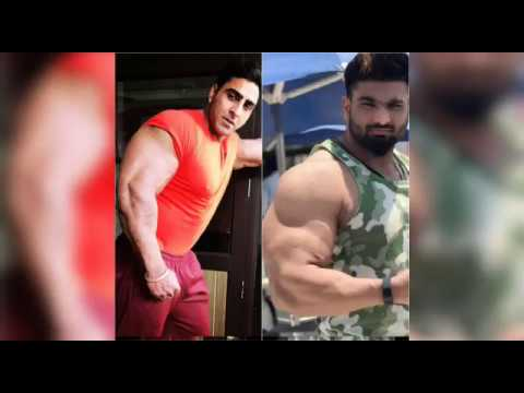 india man with biggest biceps in