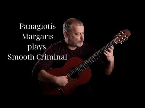 Panagiotis Margaris plays Michael Jackson - Smooth Criminal (Classical Guitar Cover)