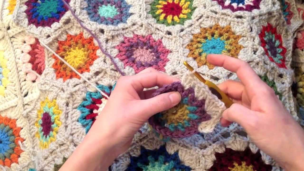 Indie Lovely Star Flower Hexagon Crochet Pattern Youtube