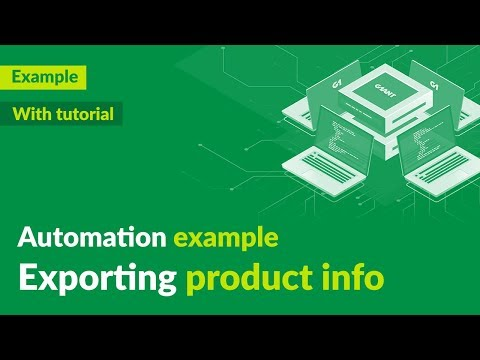 Exporting products info (from Web to Excel) - automation demo + tutorial - G1ANT thumbnail