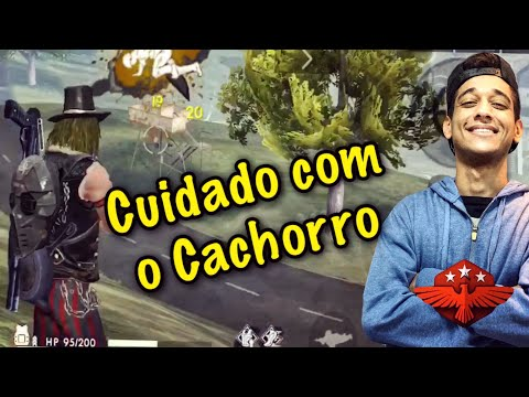 CACHORRO MAU MATANDO MUITO NA RANQUEADA DUO VS SQUAD CUIDADO CAO BRAVO FREE FIRE!