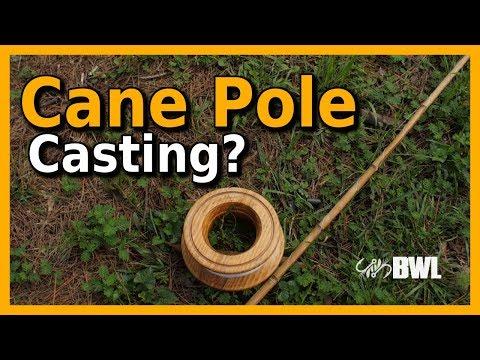 Casting A Cane Pole