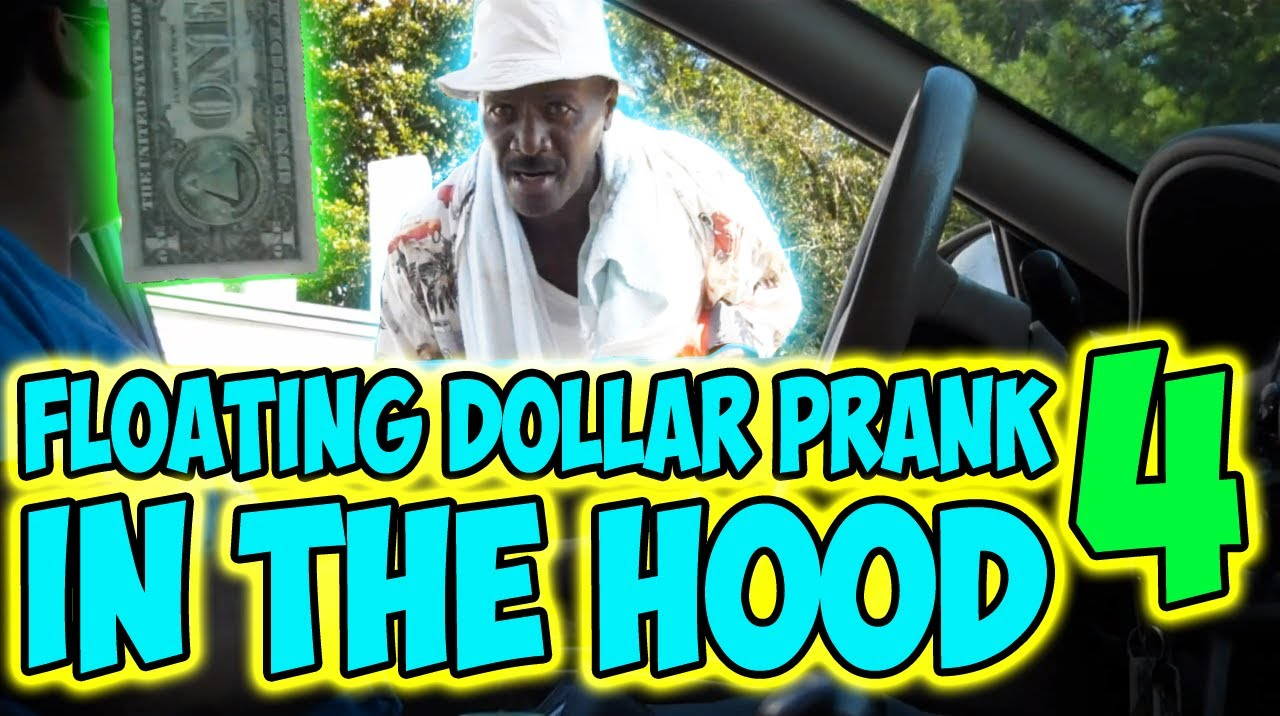 Floating Dollar Prank In The Hood 4