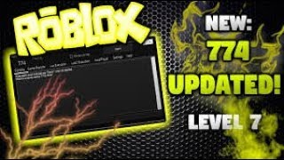 ROBLOX NEW EXPLOIT 774 UNLIMITED HEALTH LUA C SCRIPT EXECUTOR AND SO MUCH MORE