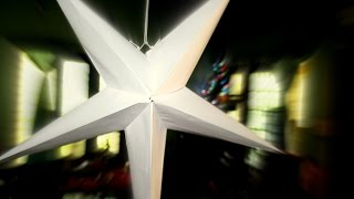How to make a STAR for Christmas #DIY