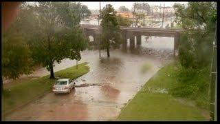 Tempête tropicale Issac : pluies diluviennes en Louisiane