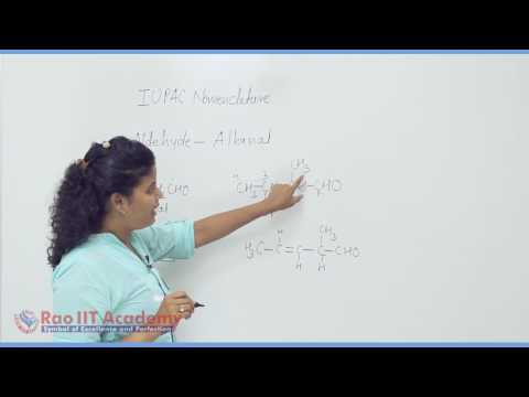 Aldehyde, Ketone, Carboxylic Acid Part-1 Chemistry Board video lecture By Rao IIT Academy