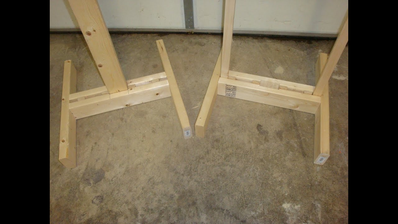 Homemade Target Stands Youtube