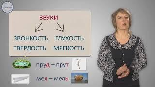 Согласные звуки и их буквы 1 Класс