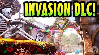COD Ghosts: Invasion DLC 3! Pharaoh, Departed, Mutiny & Awakening Extinction! (Call Of Duty Ghost)