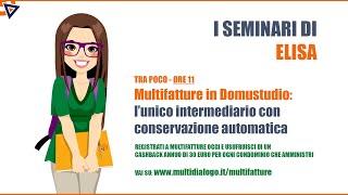 Multifatture in Danea Domustudio: l'intermediario con conservazione digitale automatica