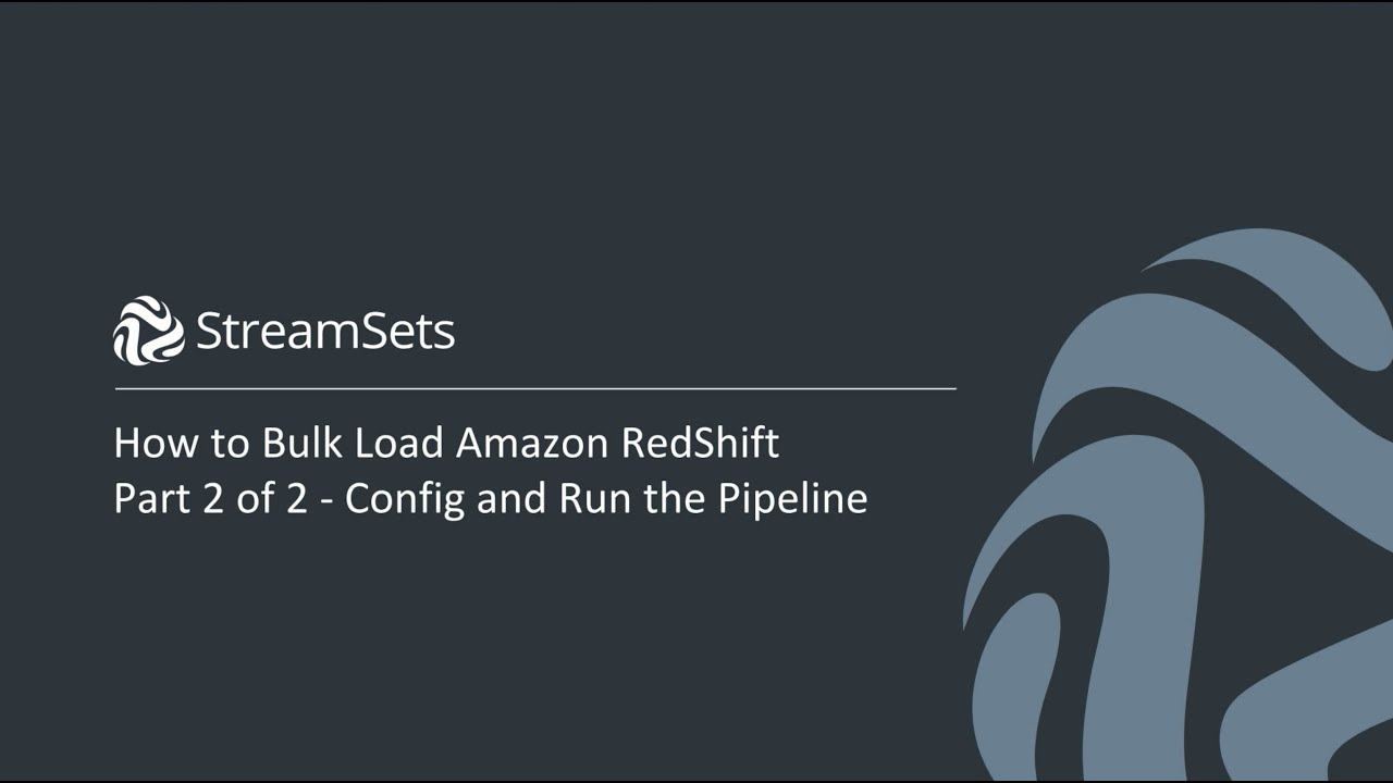 How to Bulk Load Amazon RedShift from Relational Databases
