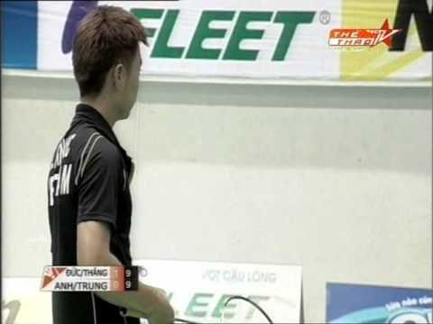 Hanoi Fleet Open 2012 Badminton - MD Final round - Manh Thang, Bang Duc vs Hoang Anh, Quang Trung