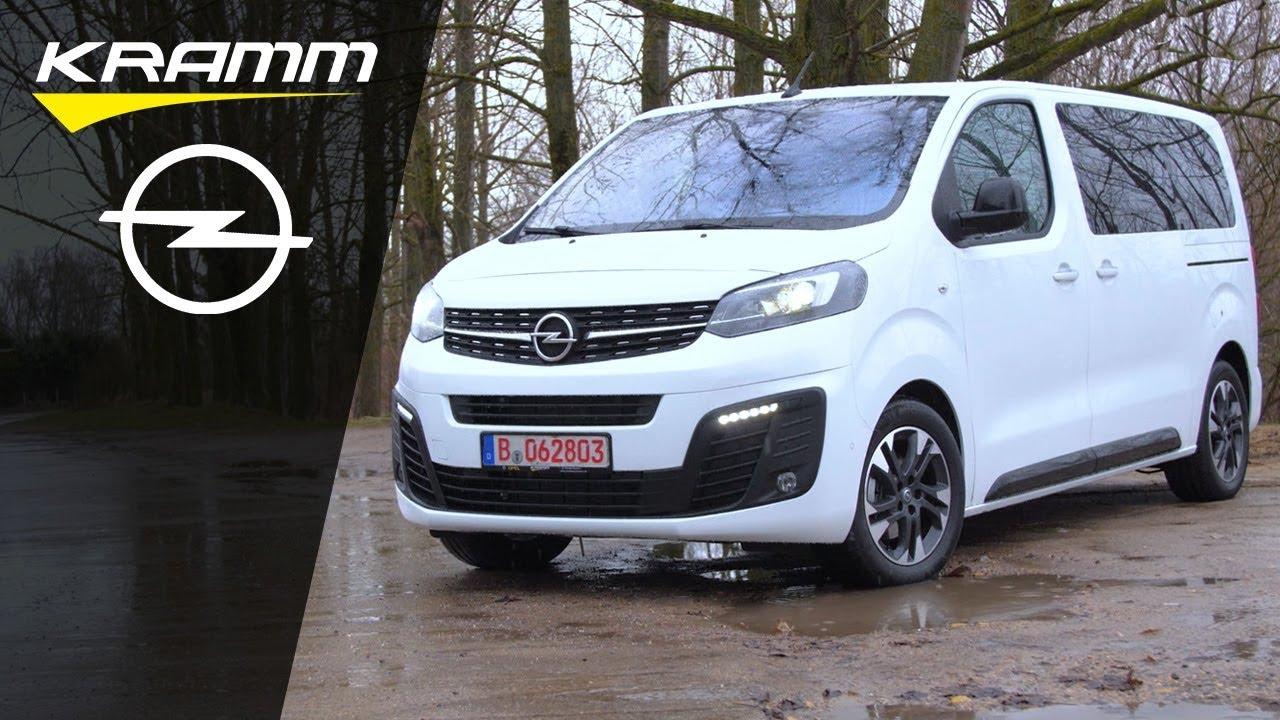 Der Neue Opel Zafira Life 2019 Erster Test Beim Autohaus Kramm Youtube