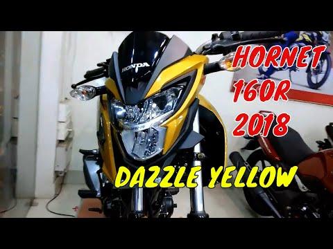 #Hondahornet2018 Honda Hornet 160r 2018 Dazzle Yellow Metallic Color| FULL OVERVIEW|