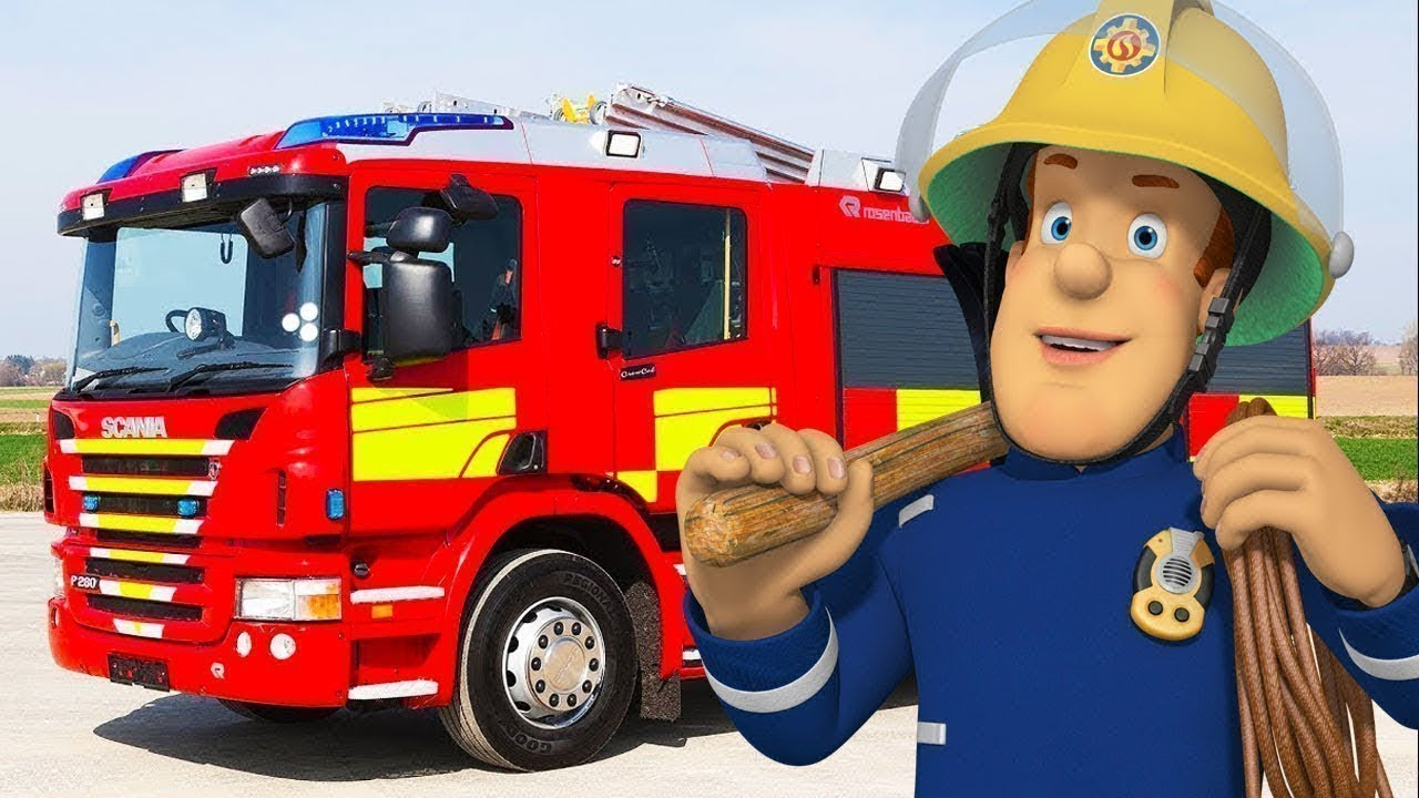 Veszélyes út - új epizódok | Sam a tűzoltó ⭐️  összeállítás | Rajzfilmek gyerekeknek