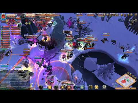 Blue Army [34] vs [80] EGO Alliance - Albion Online