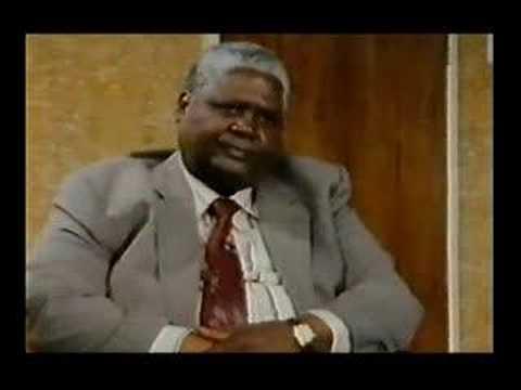 Joshua Nkomo Interview in Exile
