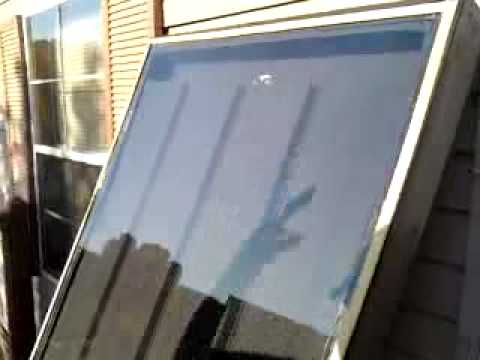 220 Degree Solar Air Heater Youtube