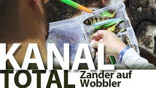 KANAL TOTAL #2 Zander auf Wobbler